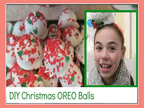 Diy Christmas Cookies (Cookie Oreo Balls Christmas)