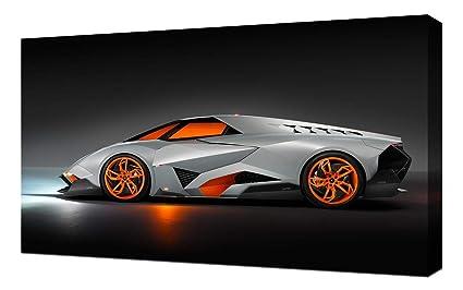 Amazon Com Lilarama Usa 2013 Lamborghini Egoista Concept V2 Canvas