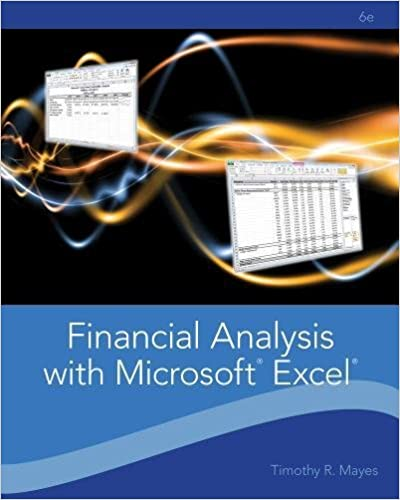 Financial analysis with microsoft excel timothy r mayes todd m financial analysis with microsoft excel timothy r mayes todd m shank 9781111826246 amazon books fandeluxe Image collections