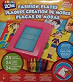 Color Zone Fashion Design Plates