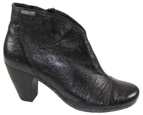 Mephisto-Chaussure Bottine-DANCER Noir cuir 1400-Femme