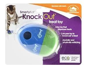 SmartyKat KnockOut Treat Dispensing Toy