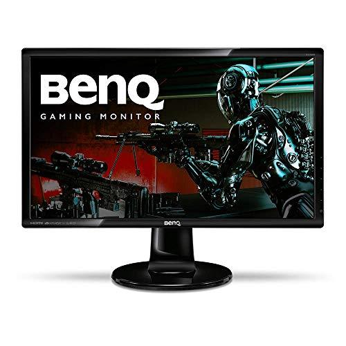 BenQ GL2460HM 24 Inch 1080p Gaming Monitor, HDMI, DVI, Built-In Speakers, Eye Care Technology, Low Blue Light, ZeroFlicker, Energy Star Certified Monitor, VESA mountable
