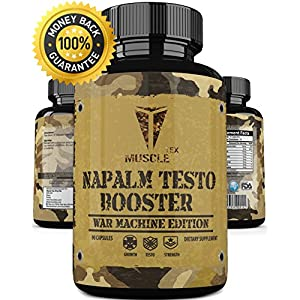 _ANABOLIC_ NAPALM TESTO BOOSTER __ Extreme Natural Testosterone Booster – Lean Muscle – Fast Growth – Extreme Testo Booster - Male Enchantment -Testosterone For Muscle - BODYBUILDING APPROVED