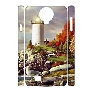 Lighthouse DIY 3D Phone Case for SamSung Galaxy S4 I9500 LMc-24687 at LaiMc