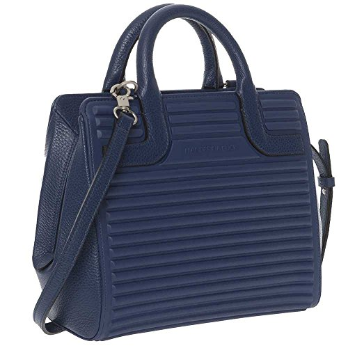 P10SET0221U Duck fabric Bag Blue You Mandarina leather Female and 8OwOAqS