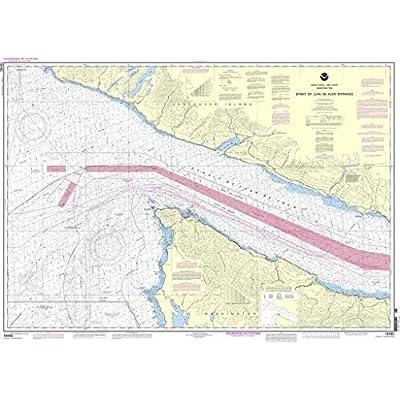 NOAA Chart 18460: Stait of Juan de Fuca Entrance by NOAA