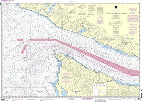 Bapho NOAA Diagramm 18460  Stait von Juan-DE-Fuca-Eingang von NOAA