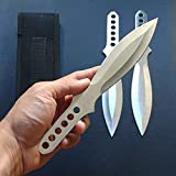 9 Inch 3 Piece Stainless Steel Throwing Knife Set