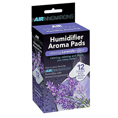 Air Innovations 12-Pack Essential Oil Humidifier Aromatherapy Pads Scented ()