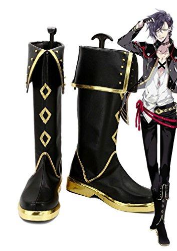 Bromeo Touken Ranbu Online Game Akashi Kuniyuki Cosplay Schuhe Stiefel  Stiefeletten
