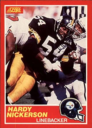 Amazoncom 1989 Score Football Rookie Card 199 Hardy Nickerson