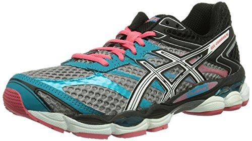 ASICS GEL-CUMULUS 16 Women's Zapatillas Para Correr Silber (7101-Aluminium/White/Paradise Pink)