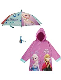 Girls' Little Minnie Mouse Slicker and Umbrella Rainwear Set