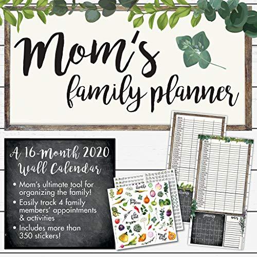 Mom's Family Planner 2020 Wall Calendar