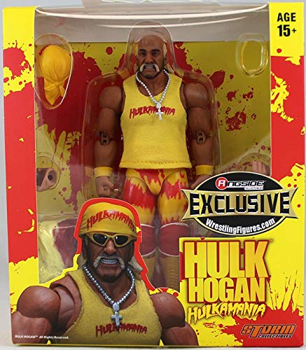 - Ringside Yellow Hulkamania Hulk Hogan Collectibles Exclusive Storm Collectibles Toy Wrestling Action Figure