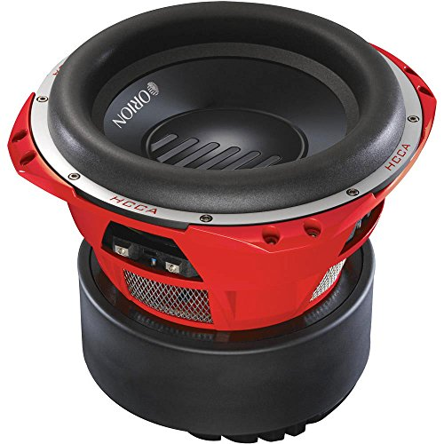 "Orion HCCA122 HCCA Black Coil Series 12"" Sub Woofer 5000 Watts MAX / 2500 Watts RMS Dual 2-Ohm Voice Coil Competition Subwoofer – 2018 Model"