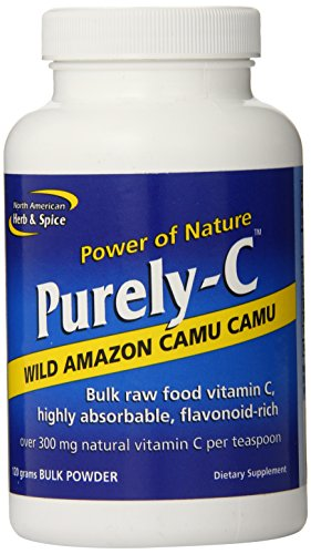 Vitamin Foodsource (North American Herb and Spice, Purely-c Bulk Powder, 120-Grams)