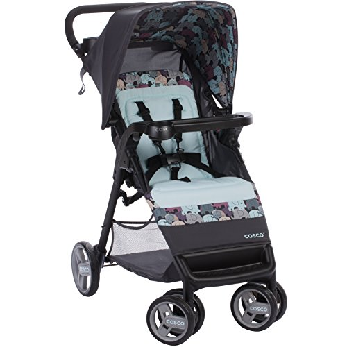 Cosco Simple Fold Stroller - Elephant Puzzle