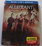 The Divergent Series Limited Edition Steelbook Trilogy: Divergent, Insurgent, Allegiant (Blu-Ray + DVD + Digital HD)