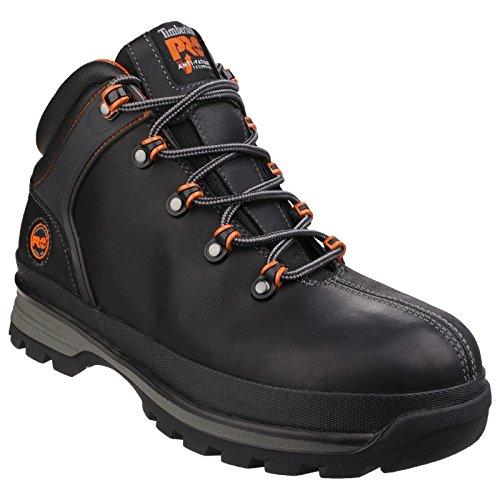 (Timberland PRO Mens Splitrock XT Lace Up Premium Leather Boots (10 US) (Black))