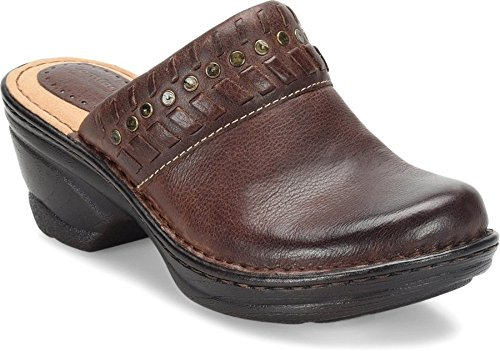 Bridle Brown Footwear - Comfortiva Lorain Bridle Brown Wild Steer Women's Shoes