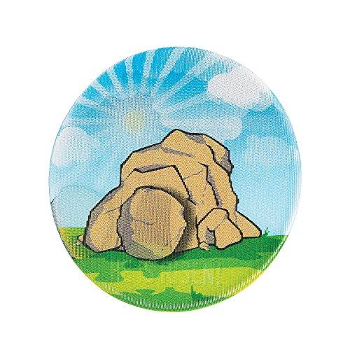 - Tomb & Rock Lenticular Mini Buttons