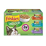 Purina Friskies Indoor Wet Cat Food Variety Pack, Indoor - (24) 5.5 oz. Cans Larger Image