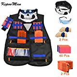 Tactical Vest Kit for Nerf Guns N-Strike Elite Series-by Kadyn