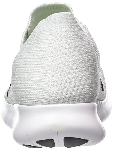 Platinum Chaussures Running Blanc pure Homme Flyknit White Entrainement Nike 40 EU Free RN de Black HSp6A