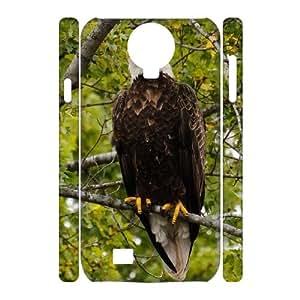 Winfors Bald eagle Haliaeetus leucocephalus Phone 3D Case For Samsung Galaxy S4 i9500 [Pattern-2]