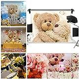 GESEN 7X5ft Teddy Bear Children Doll Seamless Vinyl Photography Backdrop Photo Background Studio Props GESEN79