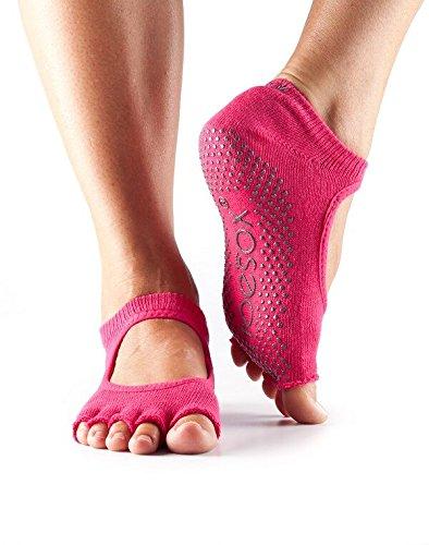 Toe Sox Mitad Bella Socks-Fuchsia, pequeño: Amazon.es: Ropa ...