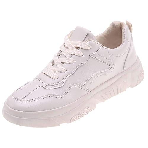 LHWY Zapatillas Mocasines de Deportes Zapatillas Deportivas para Mujer Zapatillas Deportivas cómodas Zapatillas de Deporte de amortiguación al Aire Libre: ...