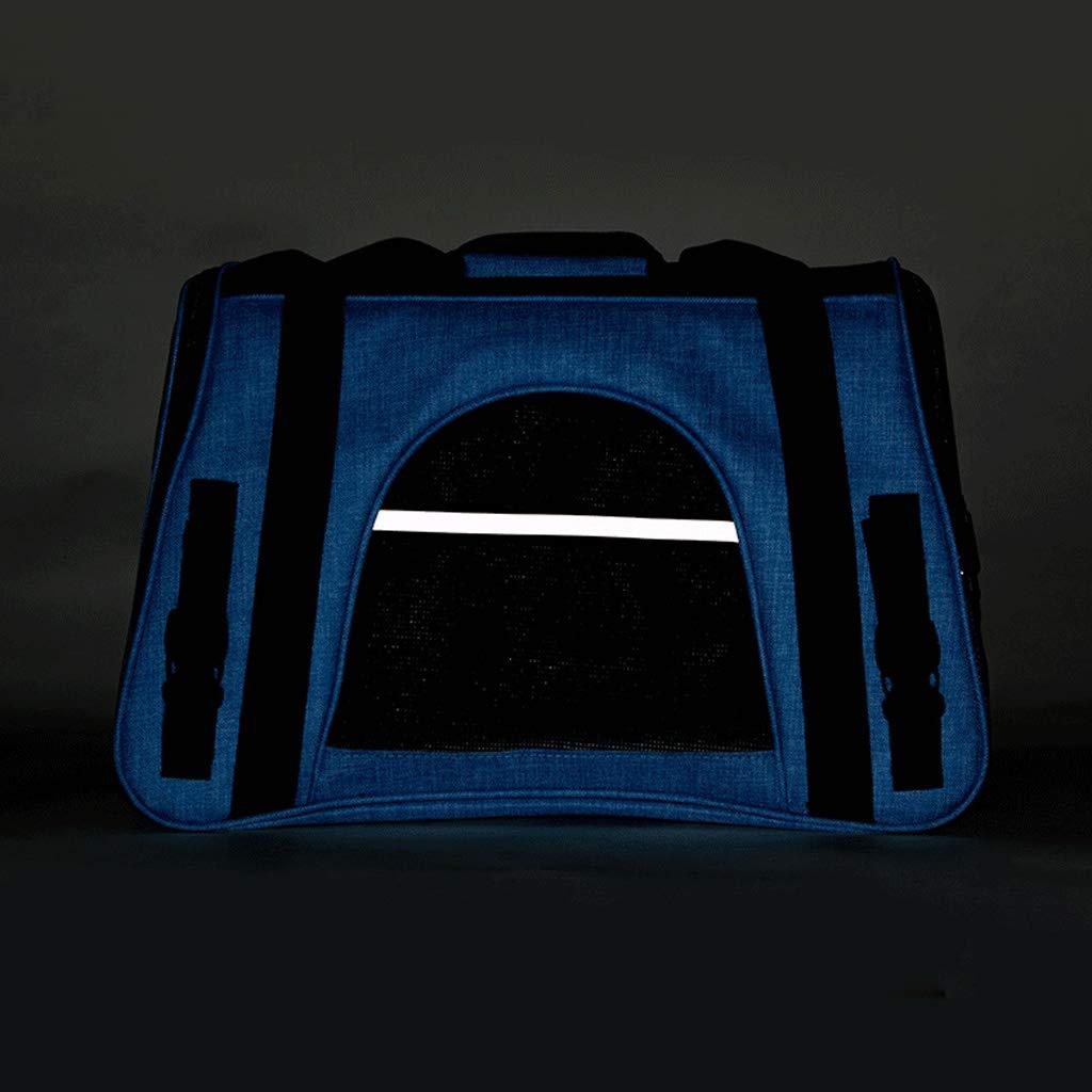 MXD Cat Bag Dog Dog Dog Bag Pet out Borsa da Trasporto Cat Shoulder Bag Cat Backpack Cat Cage Pet Bag Pet Supplies (Dimensione   S) a866f7