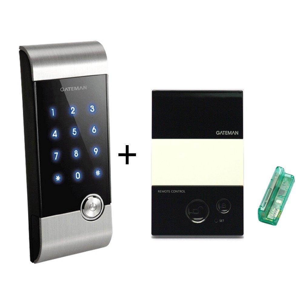GATEMAN Digital Door Lock V20 Touch Screen Smart Door Lock デジタルドアロック+無線リモコンセット 李ジュンジャンクム マナーモード 電子キー+番号 [日本語説明書付き] [並行輸入品] B01MF9OENU