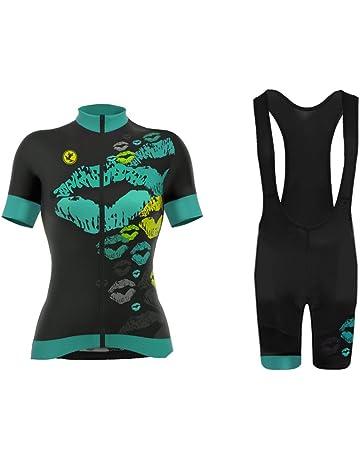 Maillot de cyclisme Set Femme LIV Mountain Bike Vélo Vêtements Summer Vélo Vêtements