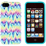 iPhone 5C Case, DandyCase PERFECT PATTERN *No Chip/No Peel* Flexible Slim Case Cover for Apple iPhone 5C - LIFETIME WARRANTY [Neon Paint Drip]