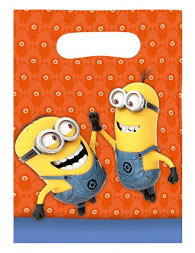 Minion Plastic Party Bags -