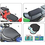 GEARS X Tender Motorcycle/Snowmobile/ATV Gel Seat Cushion (Small)