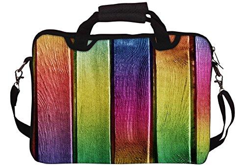 Snoogg Bunte Woods Gedruckt Notebook-Tasche mit Schultergurt 15 bis 15,6 Zoll