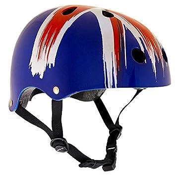 SFR monopatín/patinete/línea/BMX/casco de skate - Union Jack ...
