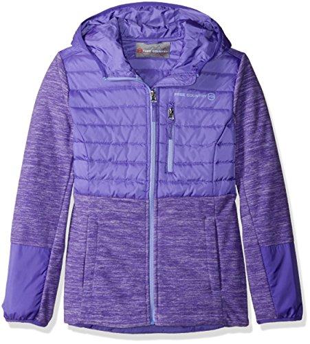 Quilt Sweatshirt Jacket - 5
