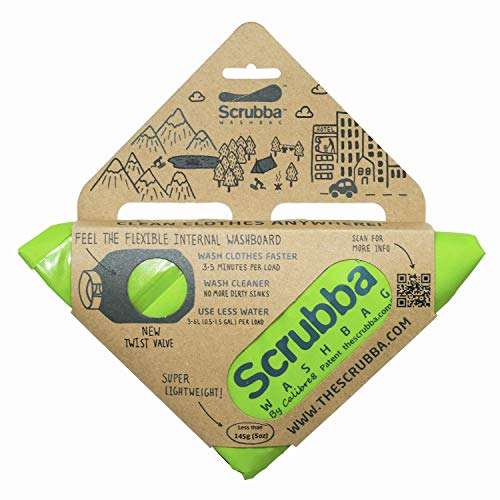 Scrubba Portable Wash Bag – Hand Washing Machine