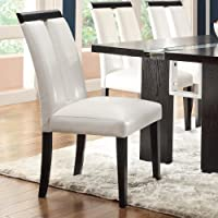 Coaster Home Furnishings Dining Chair,  Black/White