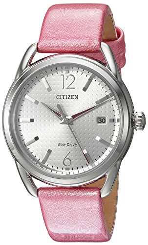 Citizen Women's FE6080-11A Drive Analog Display Japanese Quartz Pink Watch