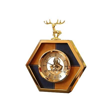 Fengfeng Reloj de Mesa de Escritorio, Relojes de repisa de Adornos ...
