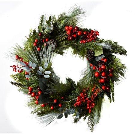 - Alcott Hill Cedar Berry 22'' Wreath