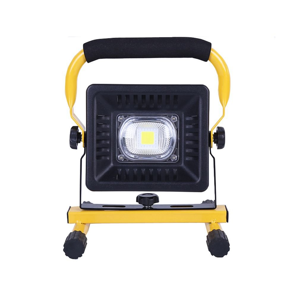 LUBAN LED Work Light Built-in Rechargeable Lithium Batteries Dustproof Waterproof 10W 20W 30W 50W Outdoor Camping Lights Daylight White (20W)