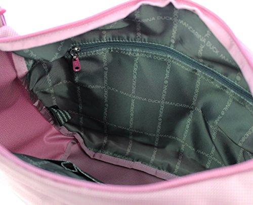 Mandarina Duck Damen Md20 Tracolla Schultertasche, 8.5x20x29 cm Phlox Pink (Rosa / Pink)